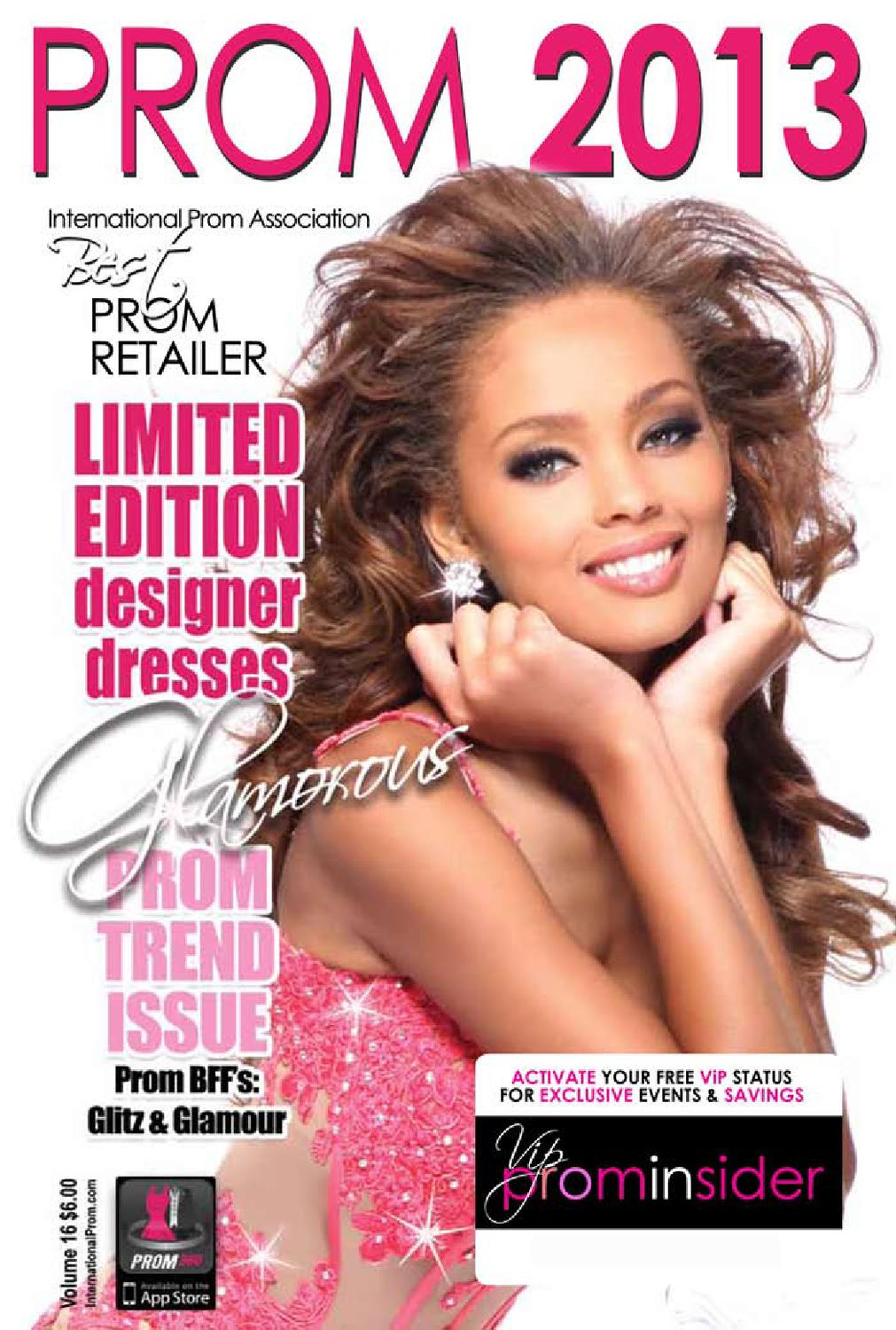Free magazines of prom dresses