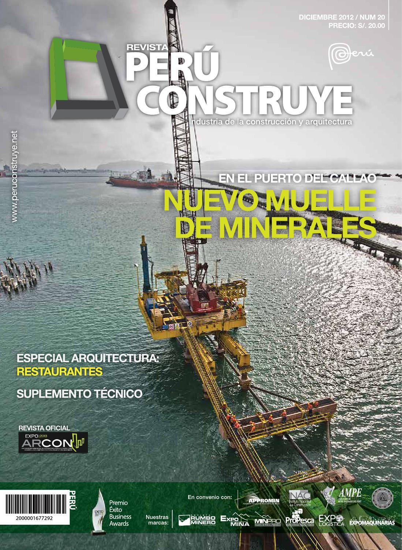 Revista Perú Construye N° 20 by GRUPO DIGAMMA - issuu 81f06e31641