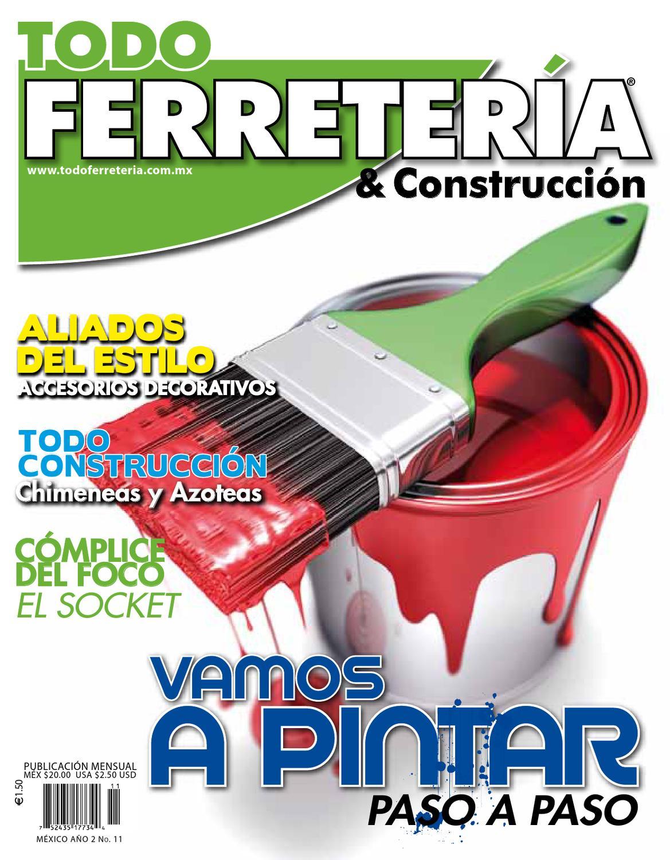 VAMOS A PINTAR by TODO FERRETERÍA - issuu