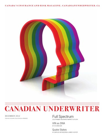 849273557 Canadian Underwriter December 2012 by Annex Business Media - issuu