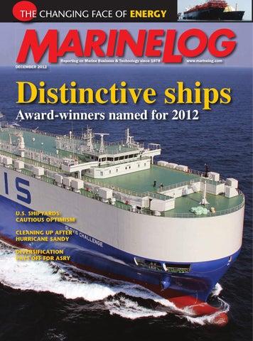 3f70d508880 Dec 2012 Marine Log Magazine by Marine Log - issuu