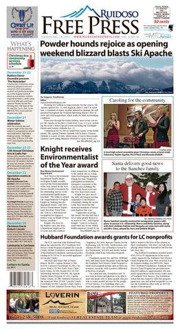 Ruidoso Free Press December 18 2017 By