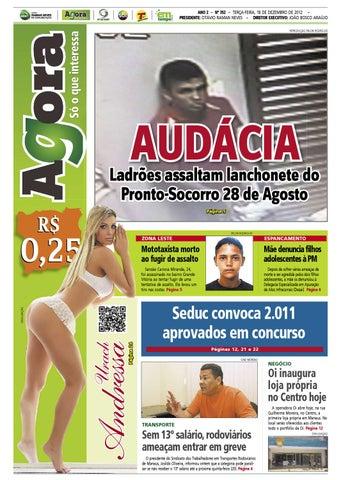 Agora - 18 de dezembro de 2012 by Amazonas Em Tempo - issuu 2983854cc9