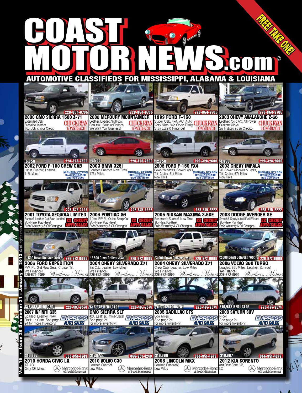 Cmn Vol 15 26 By Coast Motor News Issuu