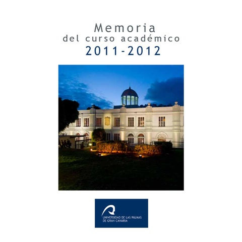 best cheap 030df a5fef Memoria ULPGC 2011 2012 by Universidad de Las Palmas de Gran Canaria ...