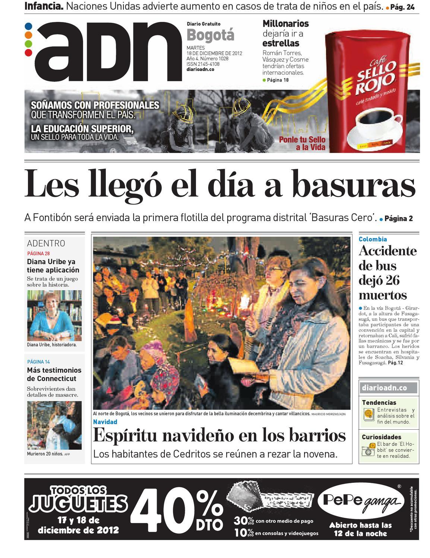 Bogotá 18 de diciembre by Diario ADN - issuu