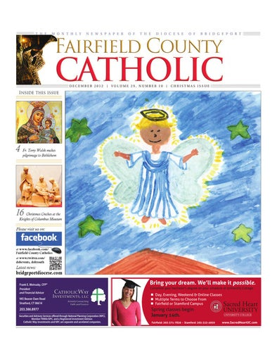 b044a133ec4 Fairfield County Catholics December 2012 by The Diocese of ...