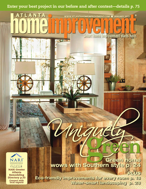 Atlanta Home Improvement 0113 By My Home Improvement Magazine Issuu