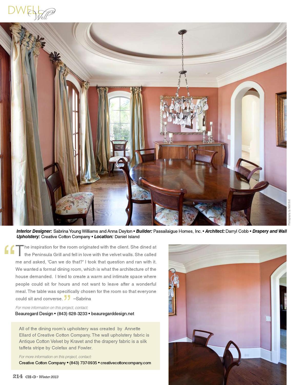 Charleston Home Design Magazine Winter 2013 By Charleston Home