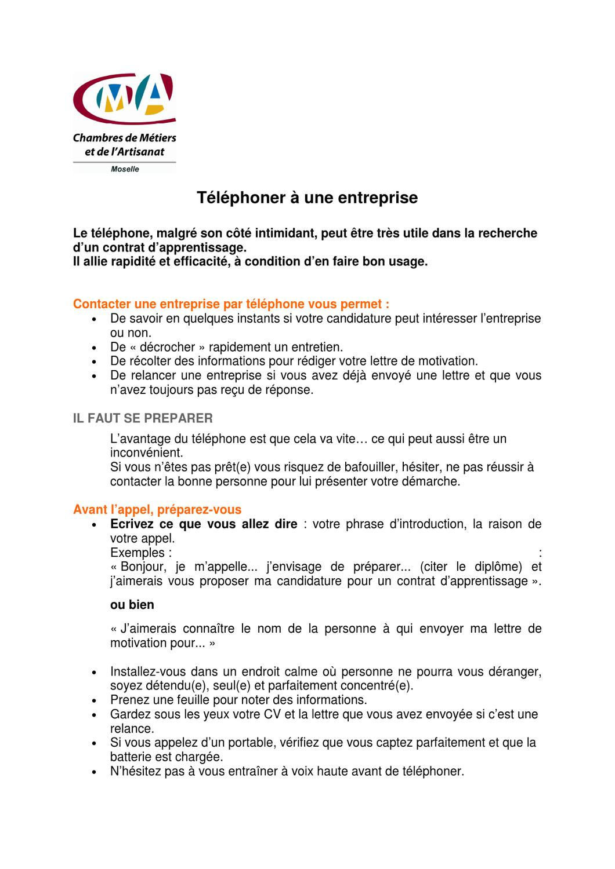 Dnthx927 Telephoner A Une Entreprise 003 By Cma Cma Issuu