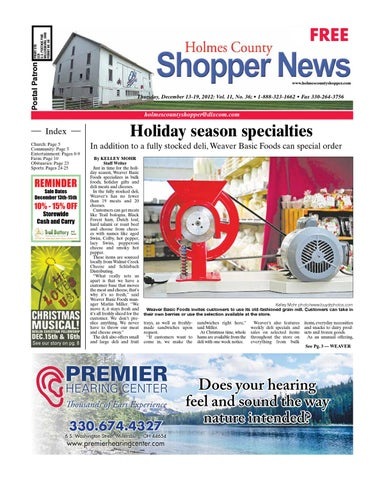 Holmes county shopper by gatehouse media neo issuu page 1 fandeluxe Images