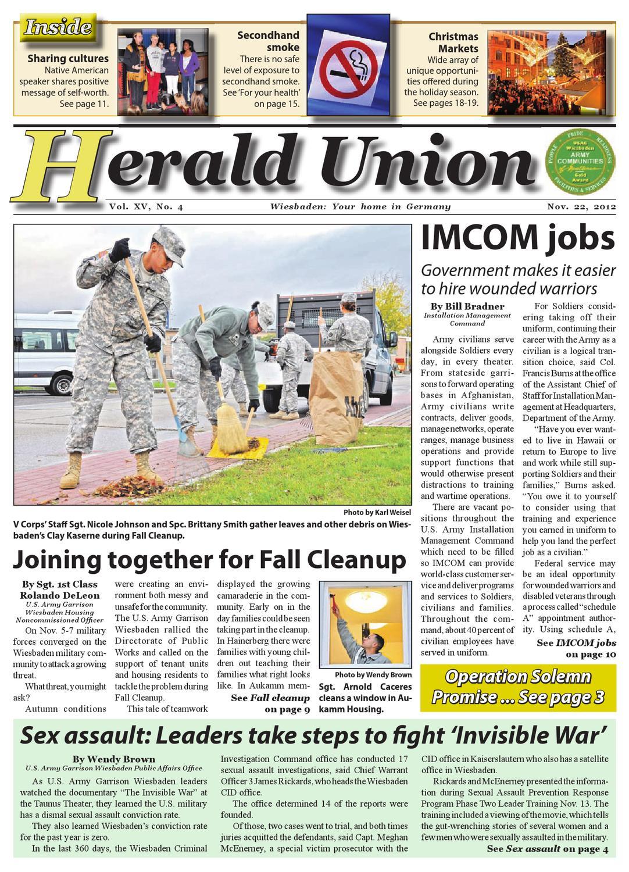 Nov  22, 2012 - Herald Union by AdvantiPro GmbH - issuu