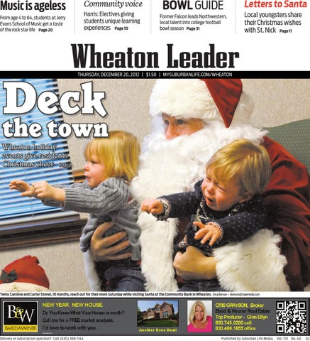 Wheaton Leader 12-20-12 by Suburban Life - issuu