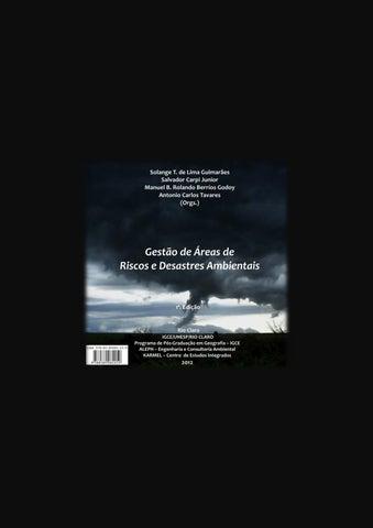 990397ae967 Gestão de áreas de riscos e desastres ambientais by Ricardo Dagnino ...