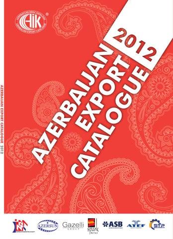 2e5d8abf4 Azerbaijan Export Catalogue (2012) by Asif Isgandarli - issuu