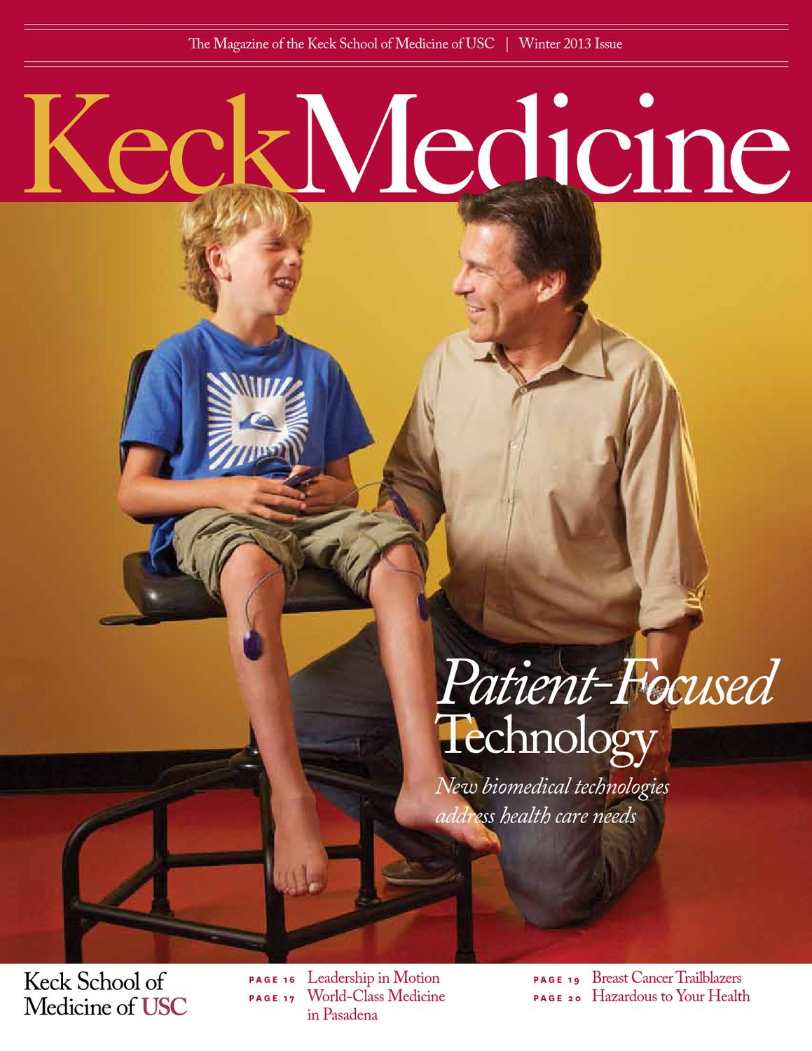 USC Keck Medicine Magazine Winter 2013 by University of