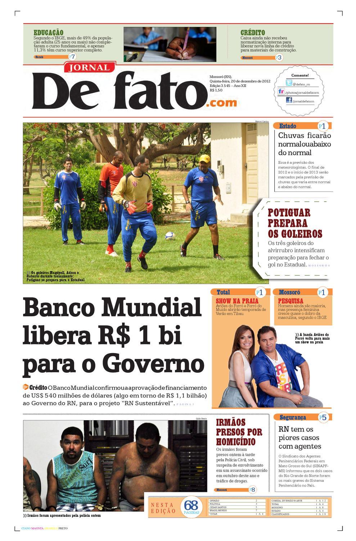 e891a189fa Jornal de Fato by Jornal de Fato - issuu