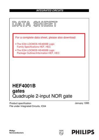 datesheet hef4001bp by antonio packer issuu rh issuu com