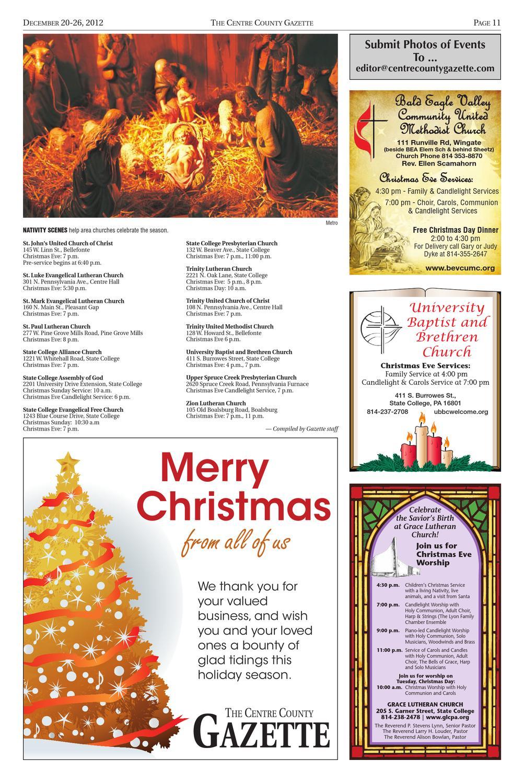 12-20-12 Centre County Gazette by Centre County Gazette - issuu