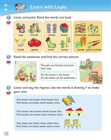 The English Ladder 1 Activity Book