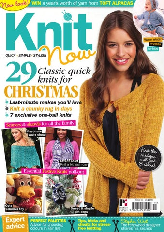 5b0712290f6 Knit Now 15 by Practical Publishing - issuu