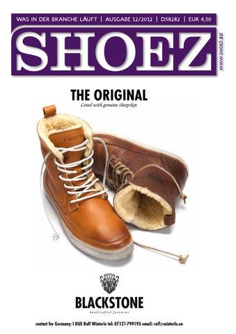 Shoez Ausgabe Dezember 2012 by SHOEZ – Das Fachmagazin für