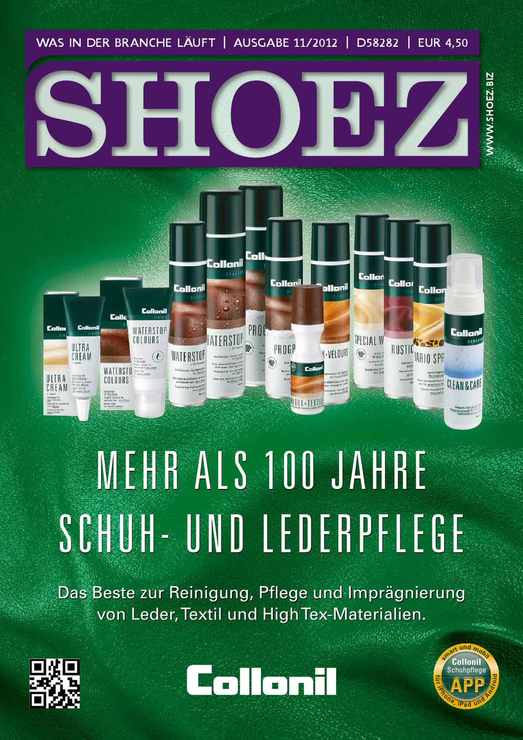 shoez november 2012 by shoez das fachmagazin f r die schuhbranche issuu. Black Bedroom Furniture Sets. Home Design Ideas