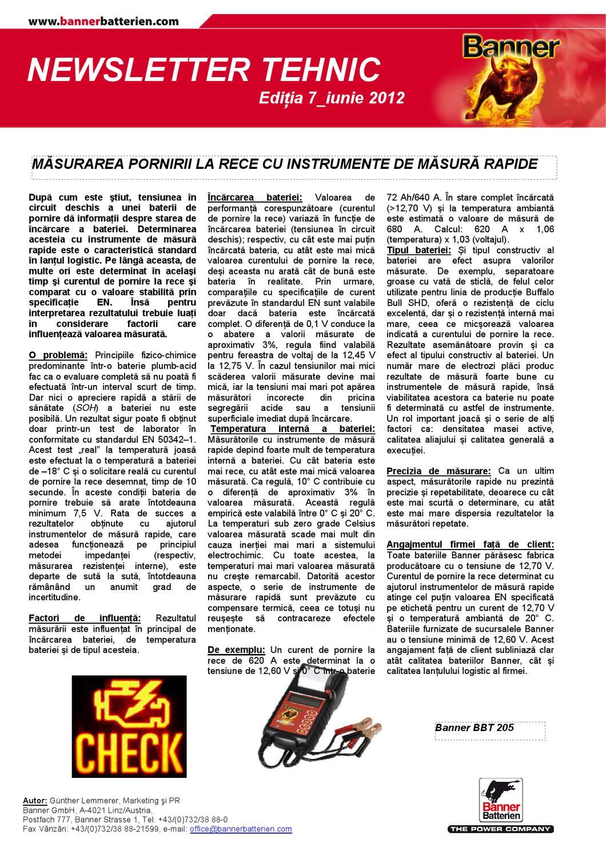 newsletter technik ro7 by banner batterien issuu. Black Bedroom Furniture Sets. Home Design Ideas
