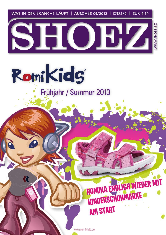 Shoez Ausgabe September 2012 by SHOEZ – Das Fachmagazin für