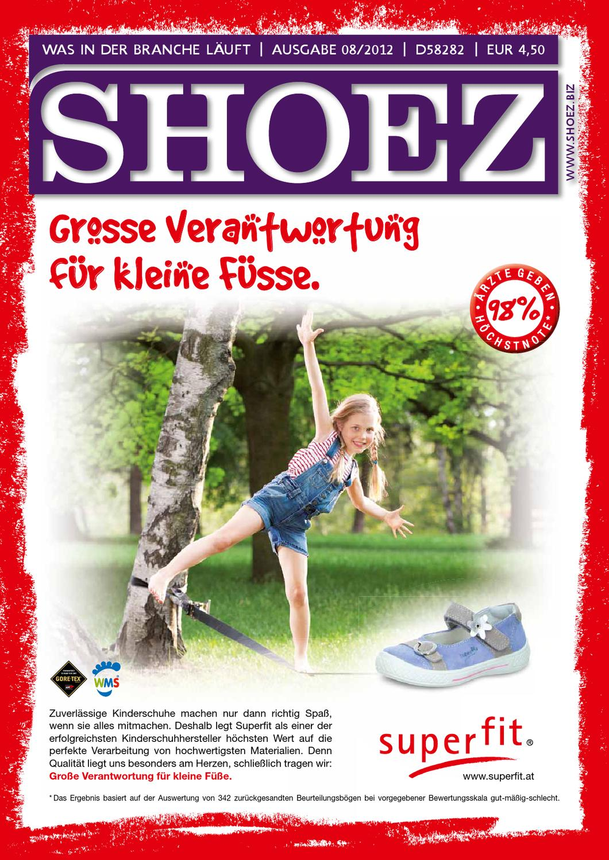 Shoez Ausgabe August 2012 by SHOEZ – Das Fachmagazin für die