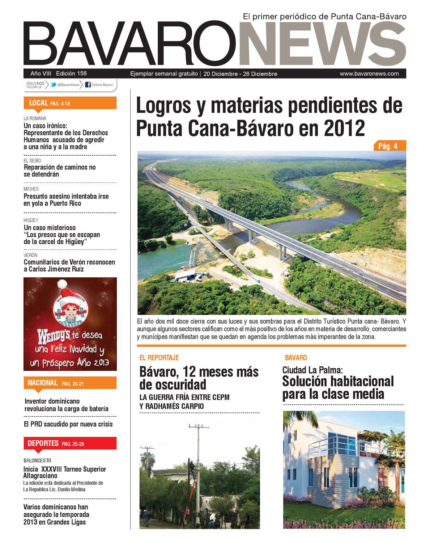 B Varo News Ejemplar Semanal Gratuito Semana Del 20 Al 26 De  # Jansen Muebles Bavaro