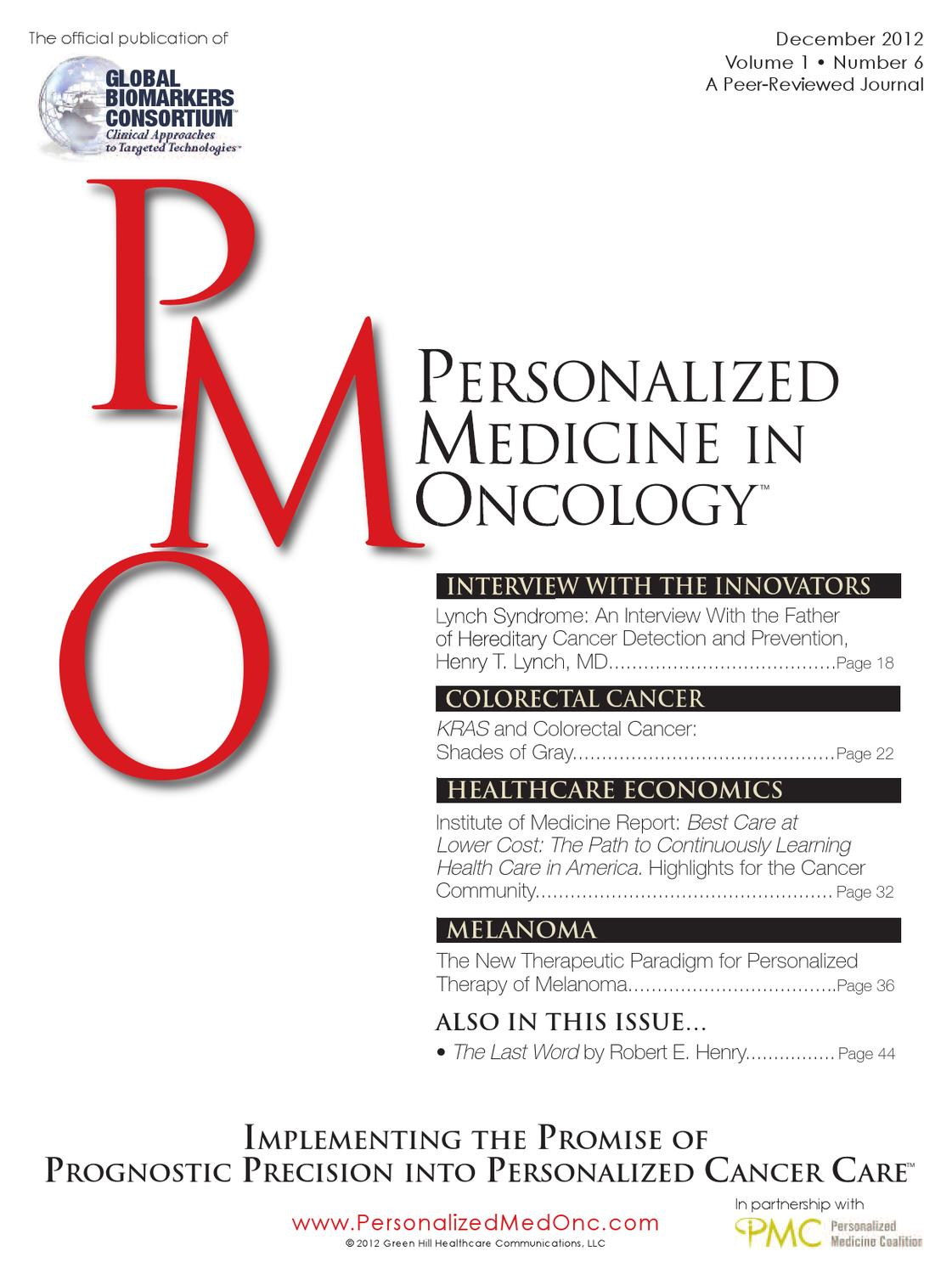 December 2012 Volume 1, Number 6 by The Oncology Nurse - issuu
