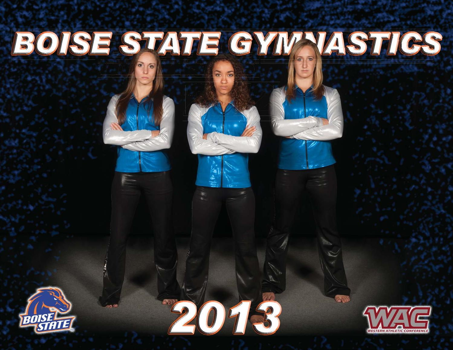 2012 13 Boise State Gymnastics Yearbook By Boise State University