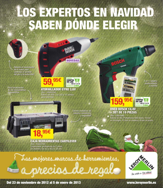 Catalogo leroy merlin especial ofertas de navidad by for Catalogo quadri leroy merlin