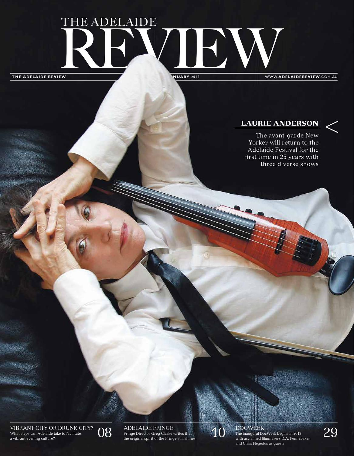 The adelaide review january 2013 by the adelaide review issuu malvernweather Image collections