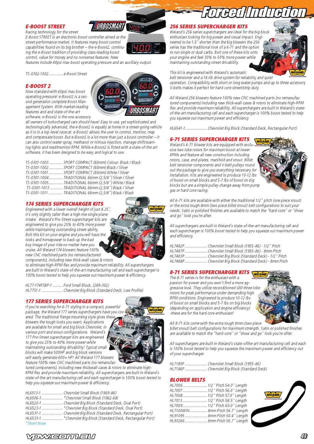 Blowers And Superchargers