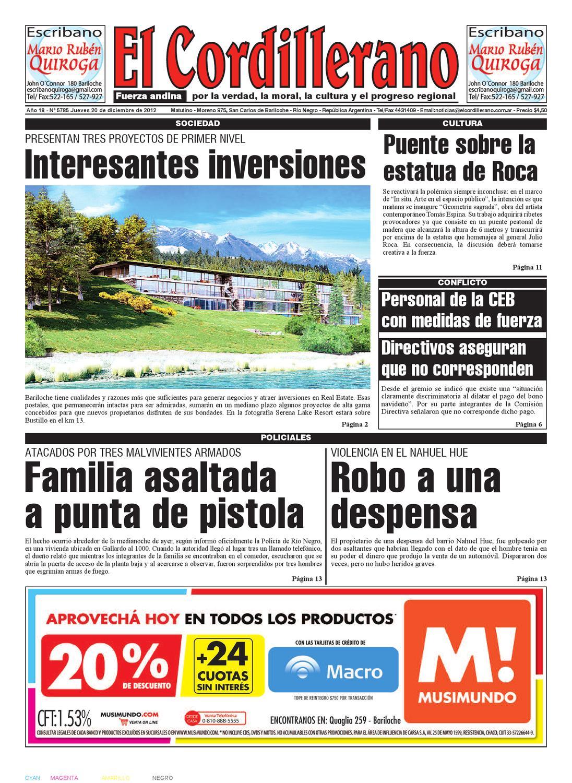 Edición Digital Del 20 De Diciembre De 2012 By Diario El