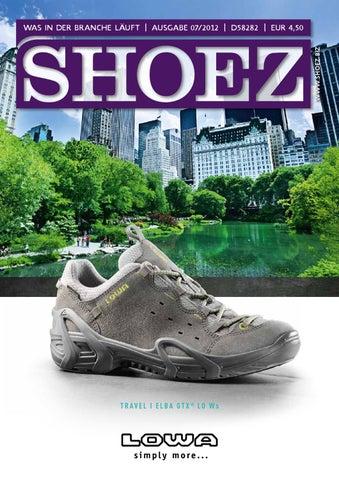 Shoez Ausgabe Juli 2012 by SHOEZ – Das Fachmagazin für die