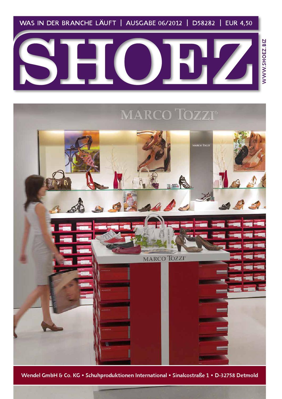 Shoez Ausgabe Juni 2012 by SHOEZ – Das Fachmagazin für die