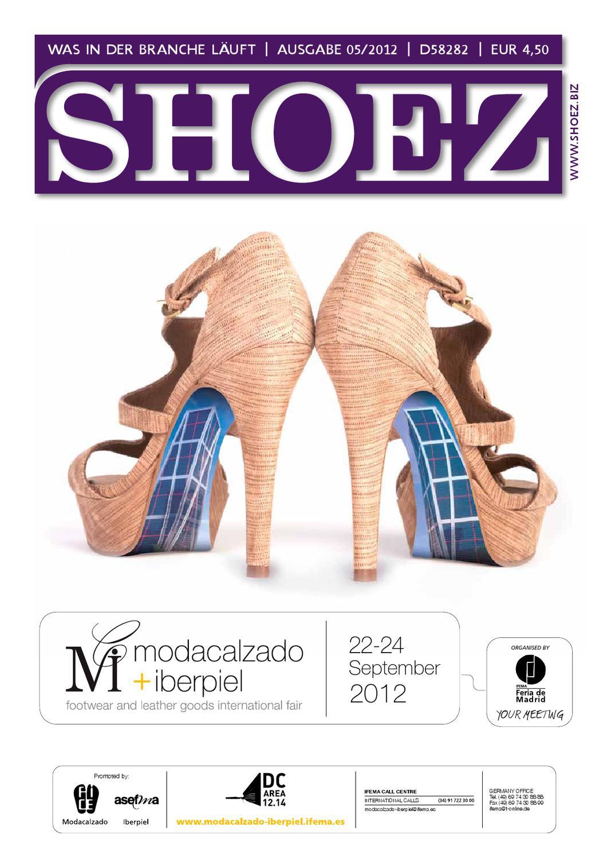 Shoez Ausgabe Mai 2012 by SHOEZ – Das Fachmagazin für die