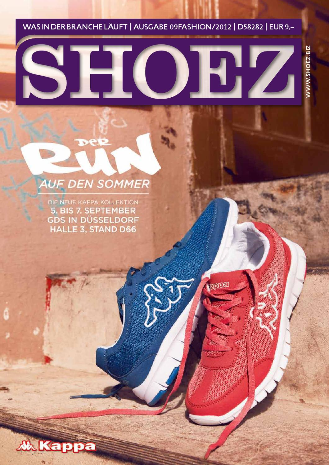 Shoez Fashion Sonderausgabe September 2012 by SHOEZ – Das