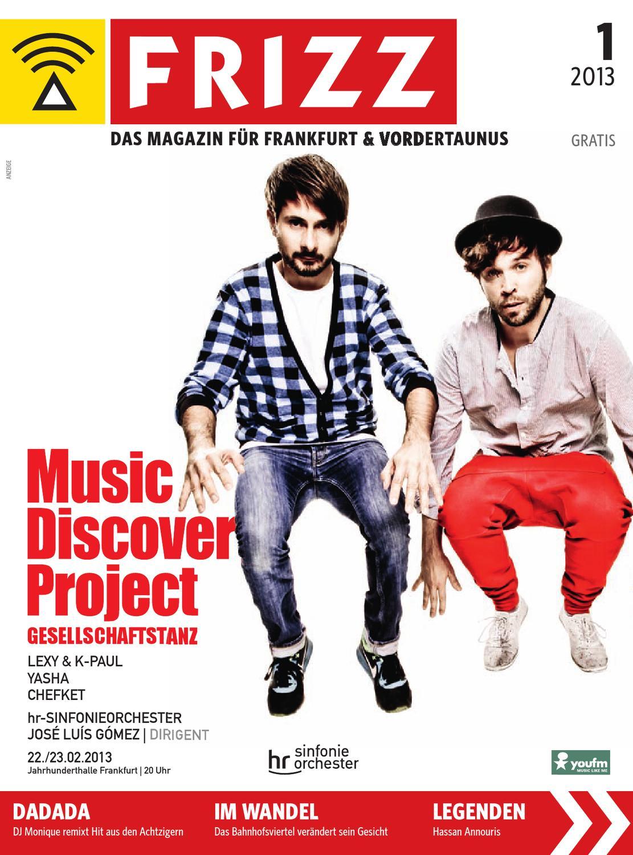 Frizz Das Magazin Frankfurt Vordertaunus Januar 2013 By