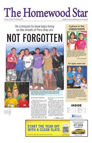 The Homewood Star January 2013 By Starnes Media Issuu