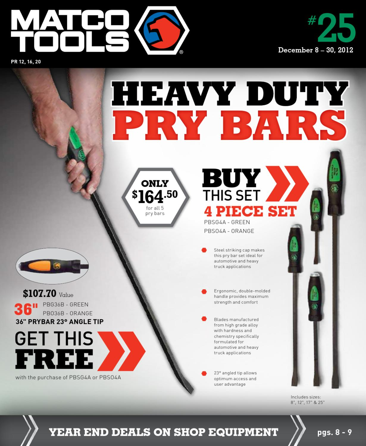 Matco Tools Sales Promo Flyer #25 by Bill Amereihn - issuu