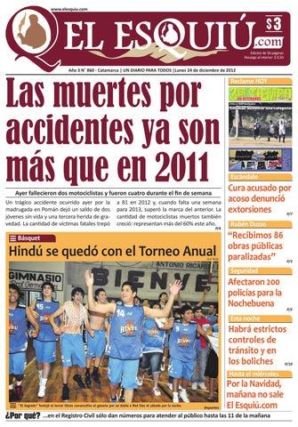 El Esquiu.com 24 de diciembre 2012 by Editorial El Esquiú - issuu 695c5e44642