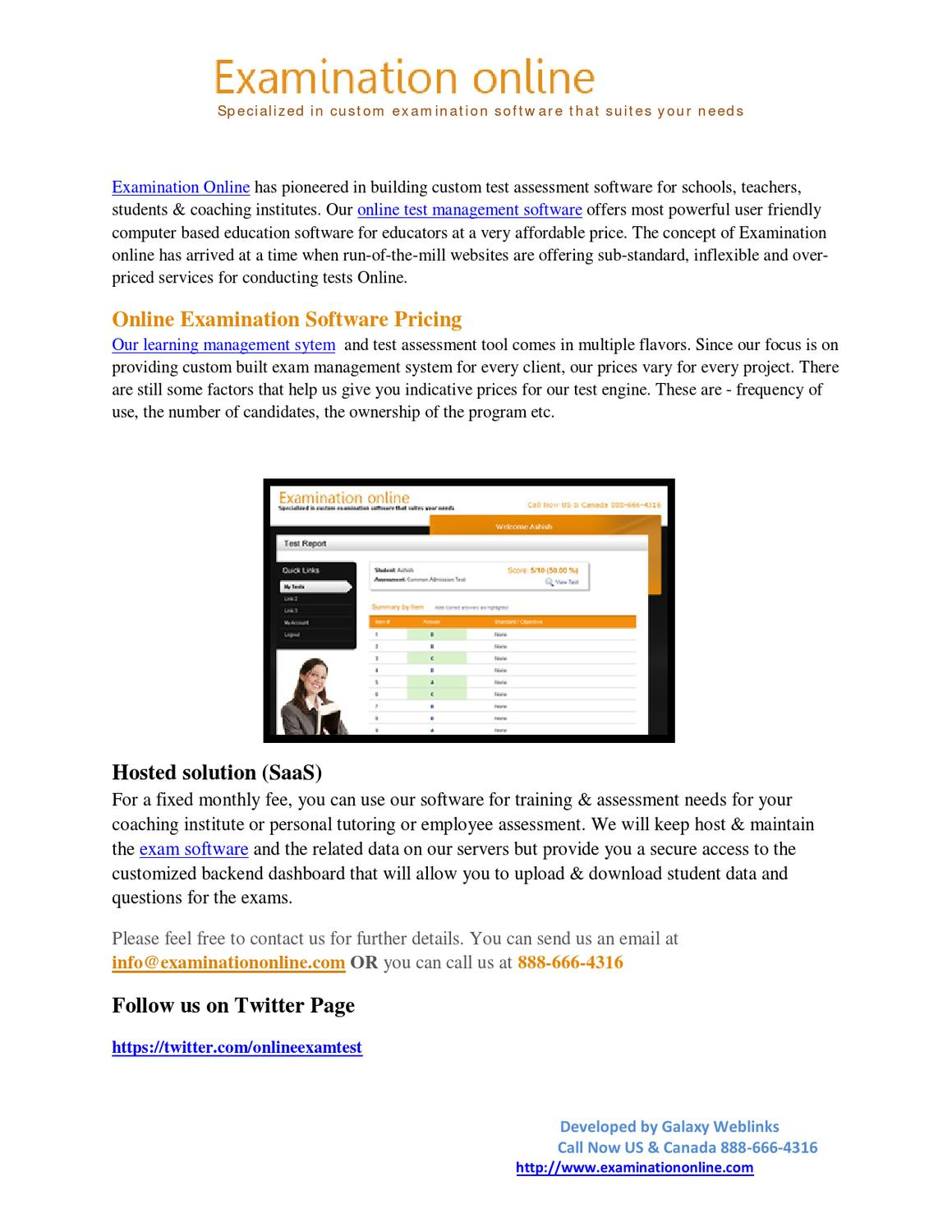 Online Testing Exams by Examination online - issuu