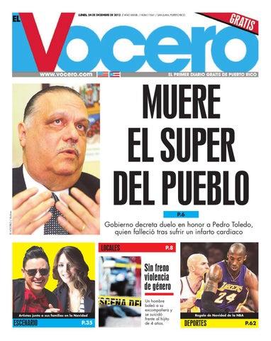 Edición 24 de Diciembre 2012 by El Vocero de Puerto Rico - issuu 10653b8674b