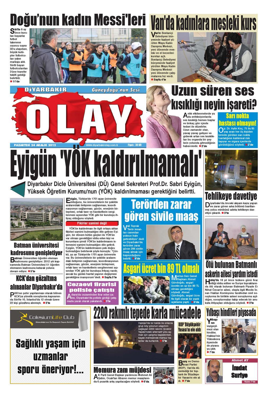 24 12 2012 Gazete Sayfalari By Diyarbakir Olaygazetesi Issuu