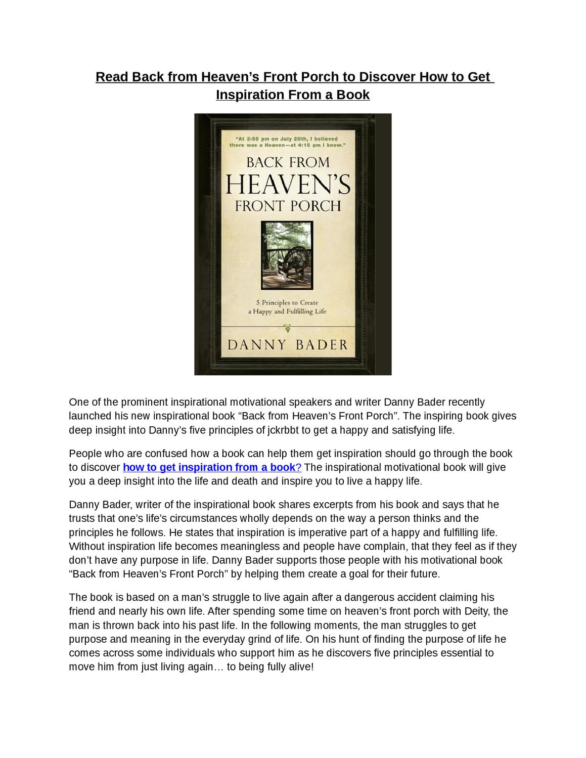 An Insight Into Heaven Book