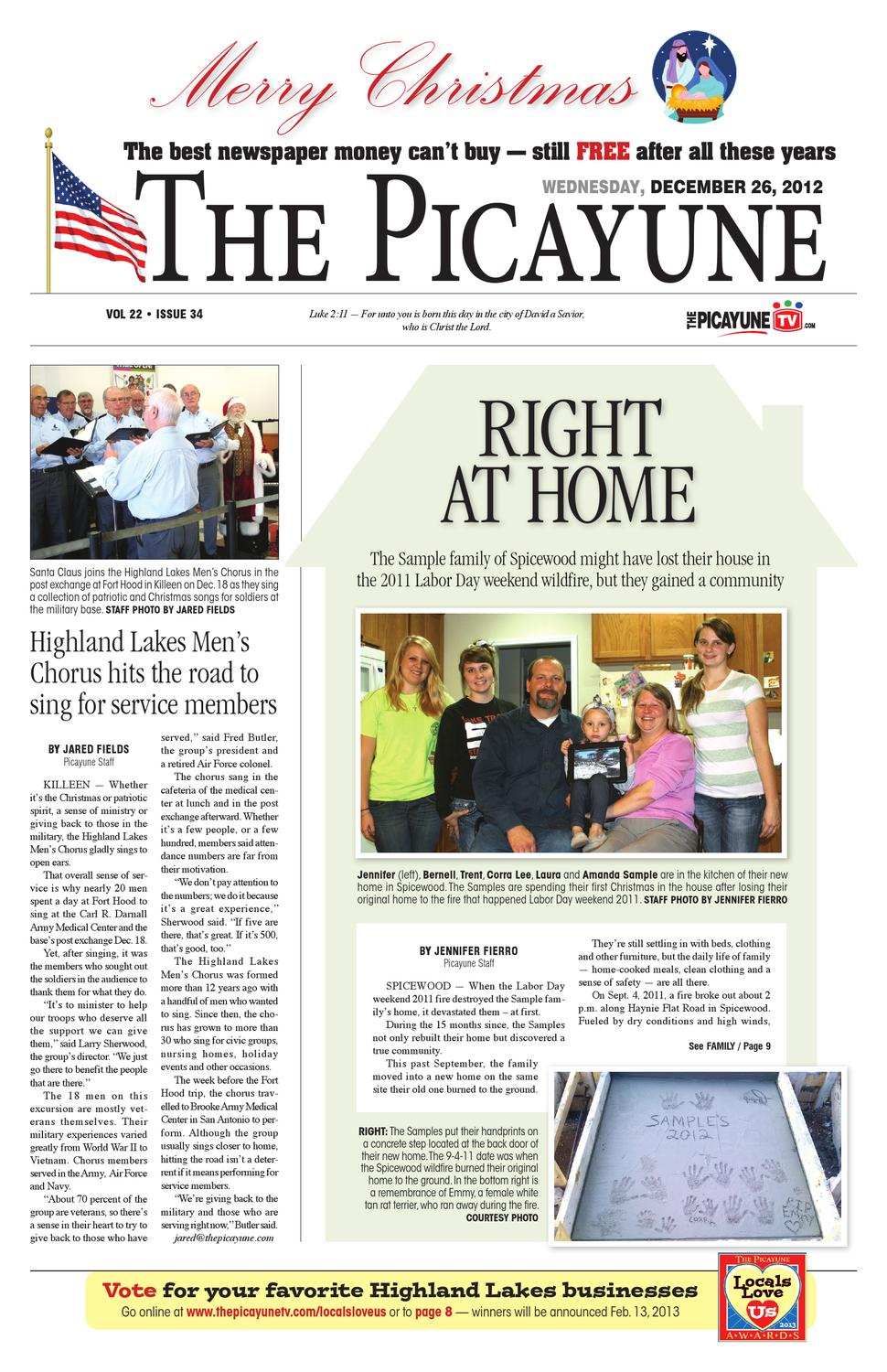 The picayune christmas 2012 edition by 101 corpus christi issuu fandeluxe Choice Image